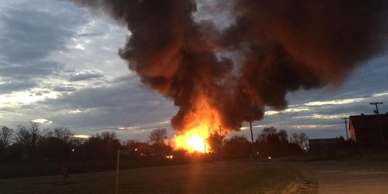 ВКанзасе произошел взрыв нахимическом заводе; есть пострадавшие
