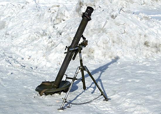 «Укроборонпром» продемонстрировал видео испытаний огневых минометов КБА-48М1