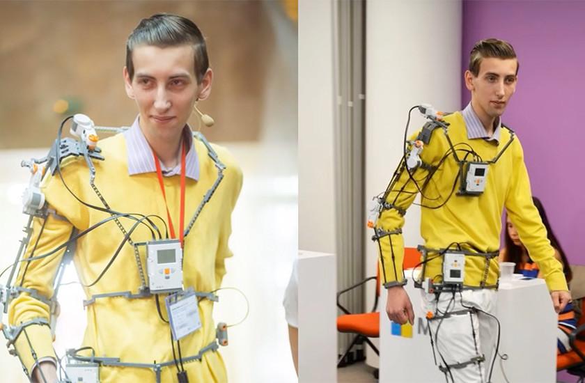 Украинский проект экзоскелета UniExo победил впрестижном международном конкурсе