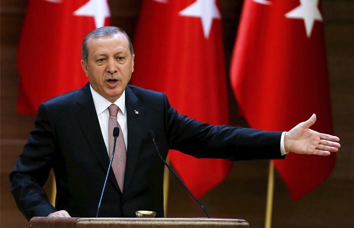 Эрдоган: Турция вСирии хочет положить конец правлению Башара Асада