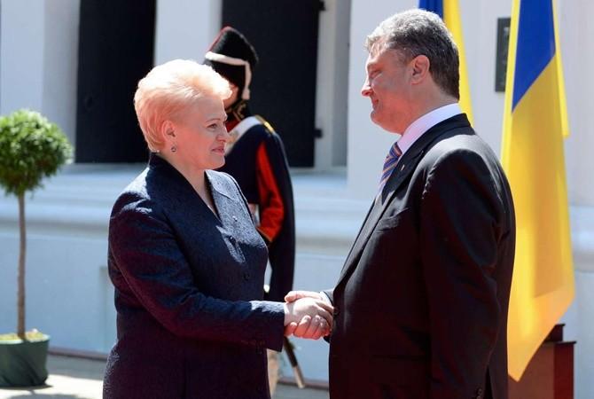Президент Литвы сегодня приедет в Украинское государство ивстретится сПорошенко