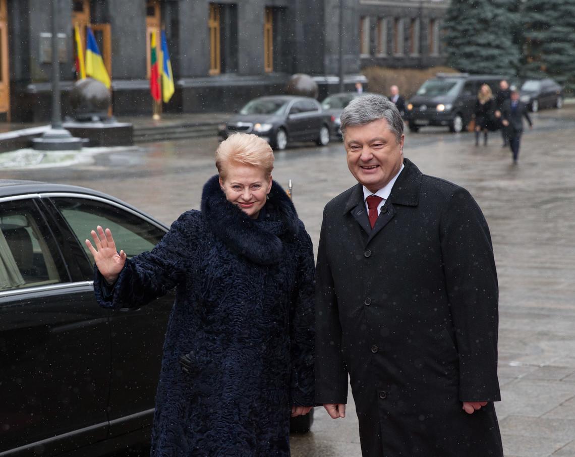 Коррупция наносит Украине больше вреда, чем русская угроза,— Грибаускайте