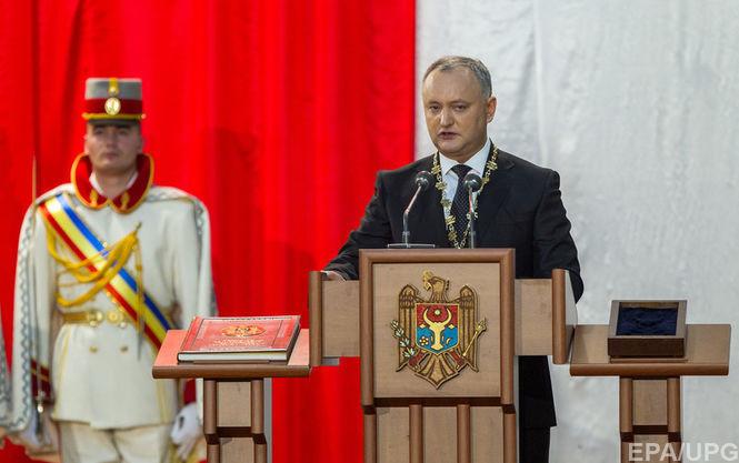 Додон: Нельзя строить отношения Молдовы сЕС наантироссийской риторике