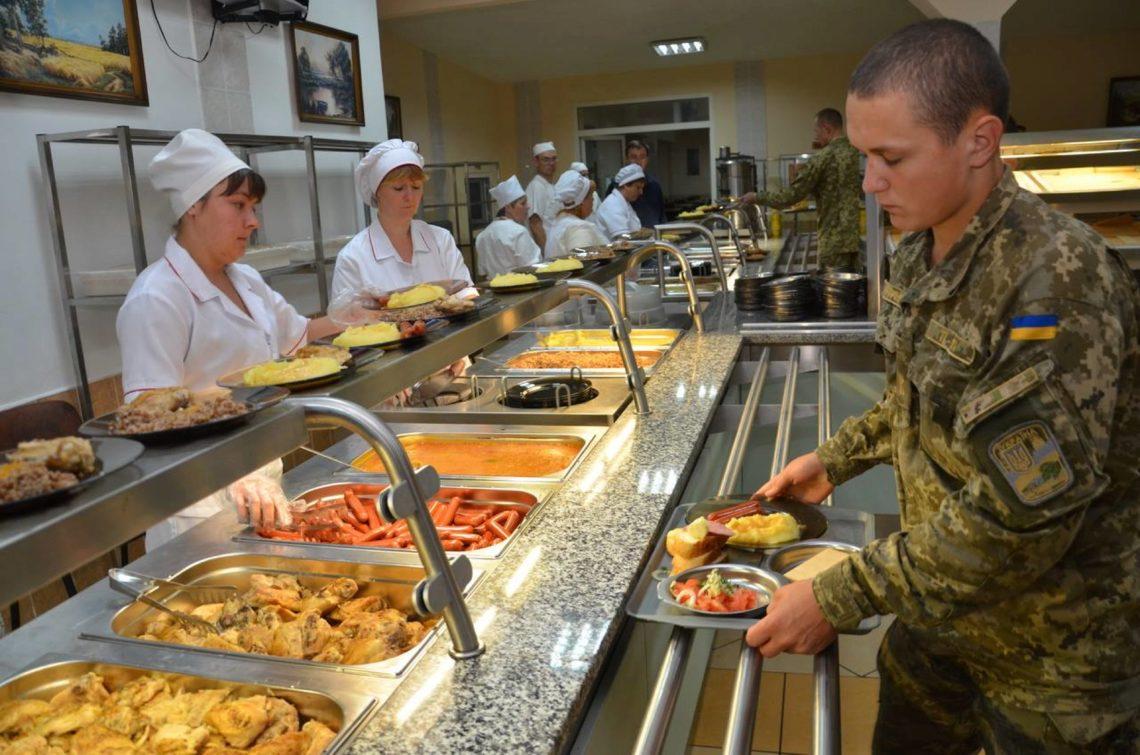 Полторак анонсировал переход 25 воинских частей насистему питания постандартам НАТО