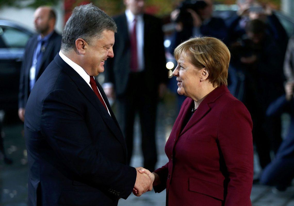 УПорошенко анонсировали его скорую встречу сМеркель