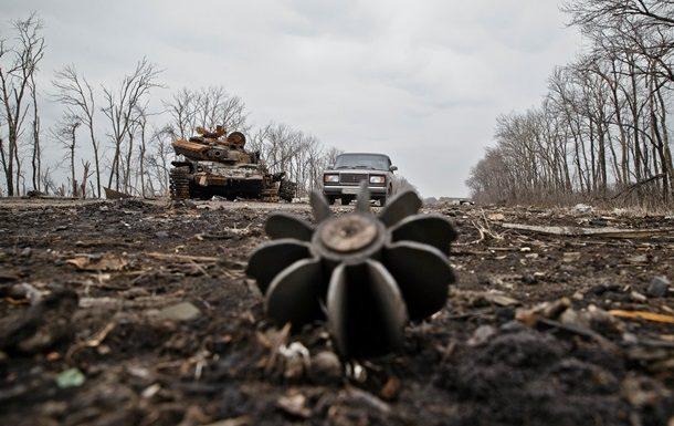 Пророссийские террористы устроили обстрел собственных позиций вблизи Пикузы, такую информацию распространил штаб АТО.