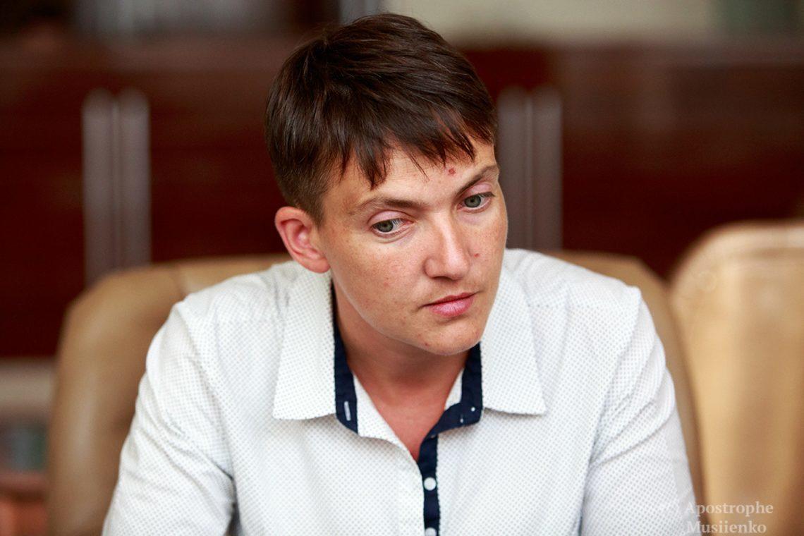 СБУ проведет проверку всвязи споездкой Надежды Савченко вДонецк