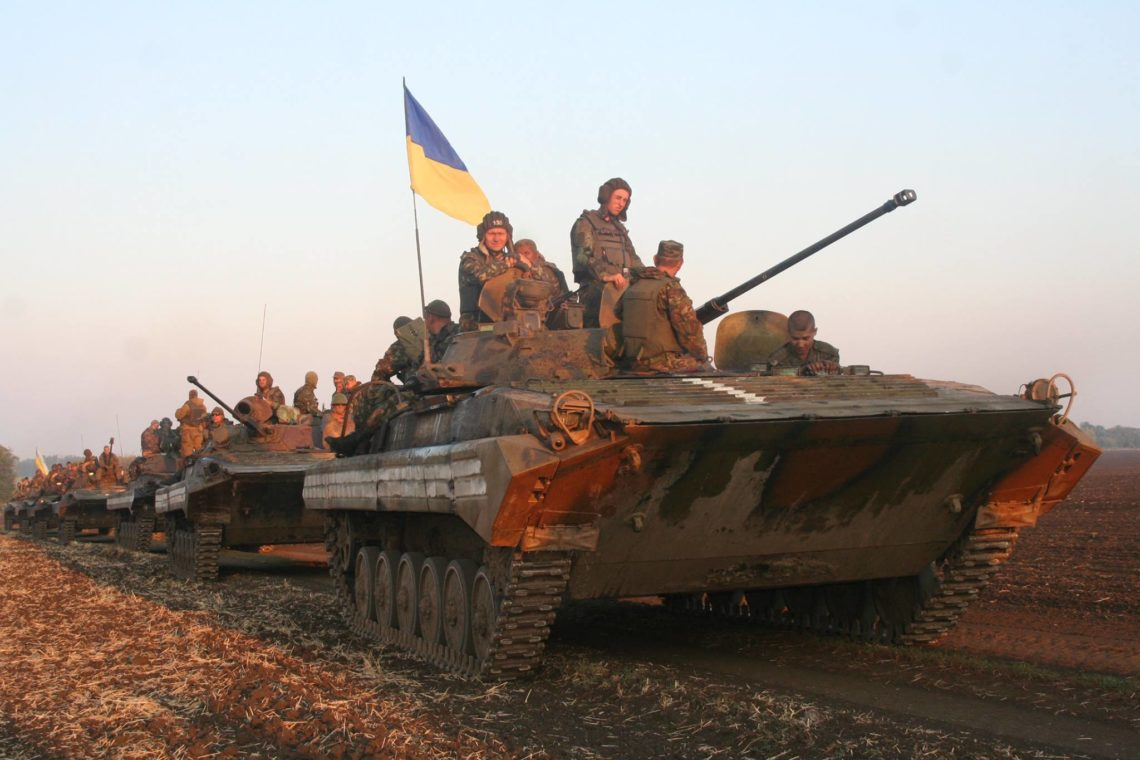 Завчерашний день зафиксировано 122 обстрела позиций ВСУ,— штаб АТО