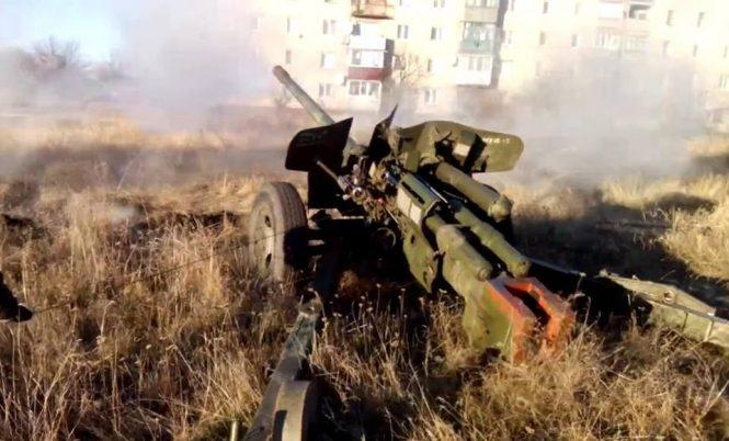 Под Авдеевкой в итоге обстрела опорного пункта умер военный— Штаб АТО