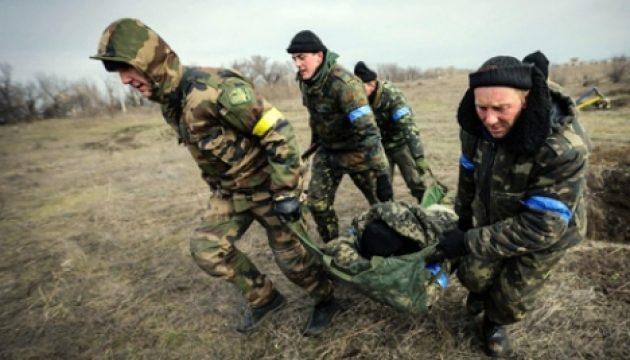 Под Троицким умер украинский боец— штаб АТО