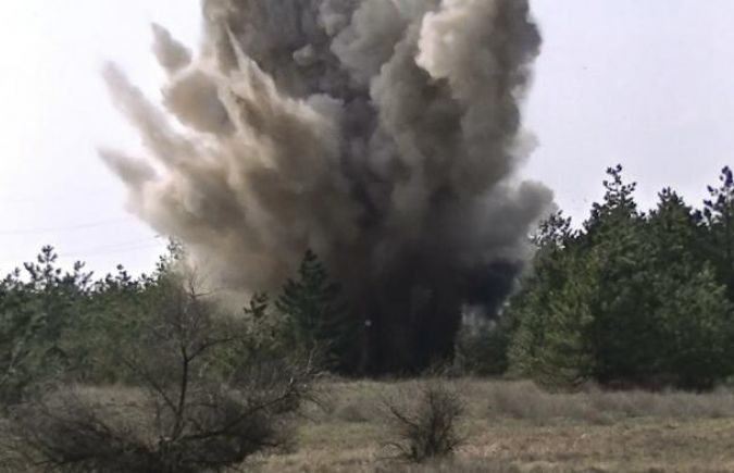 ГУР: четверо боевиков подорвались насобственных минах