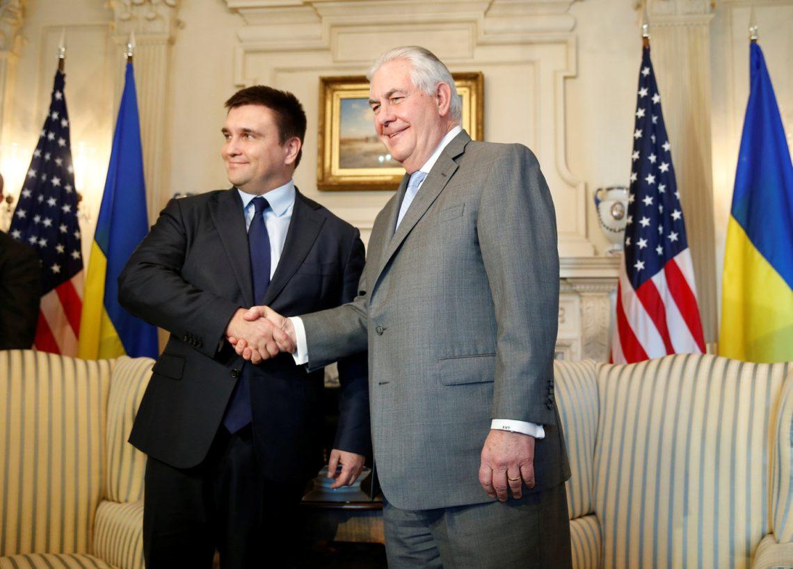 Климкин: Госсекретарь США советовался с государством Украина перед поездкой в столицу Российской Федерации