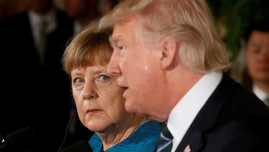 Трамп иМеркель потелефону решали «мирное урегулирование вУкраине»