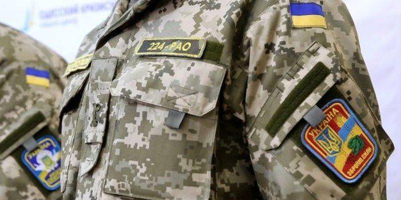 Впроцессе учений взоне АТО умер военнослужащий