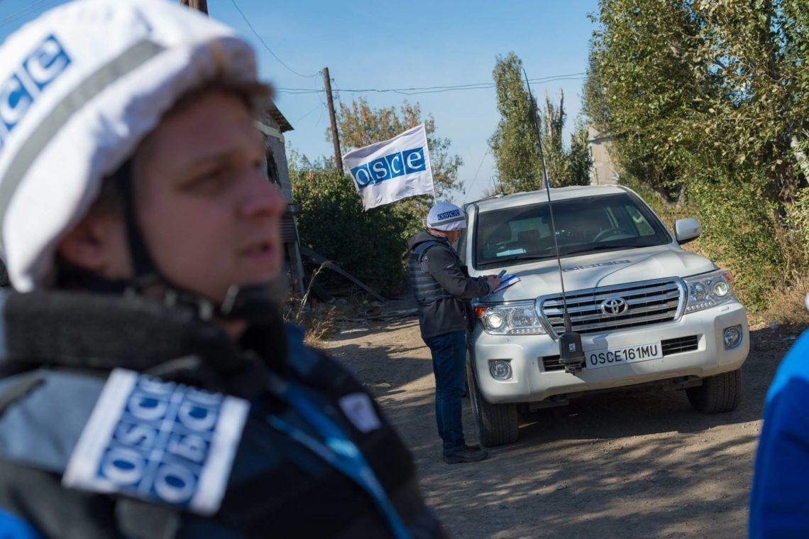 Украина сама себя подставила видео сподрывом авто ОБСЕ вЛНР