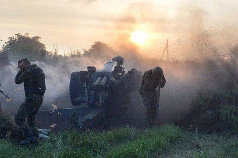 Вштабе подытожили пятницу вАТО: без потерь, 5 раненых