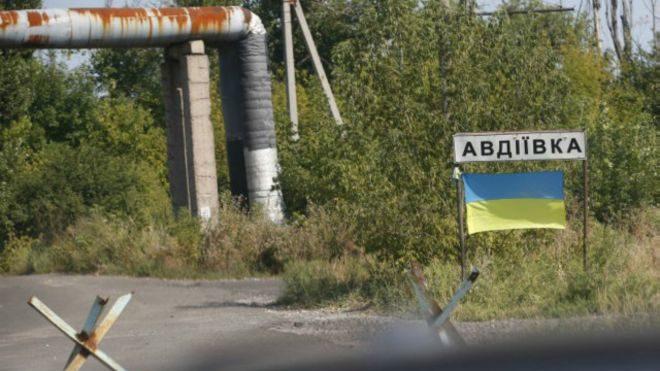 Боевики разрушили личный дом вовремя артобстрела Авдеевки