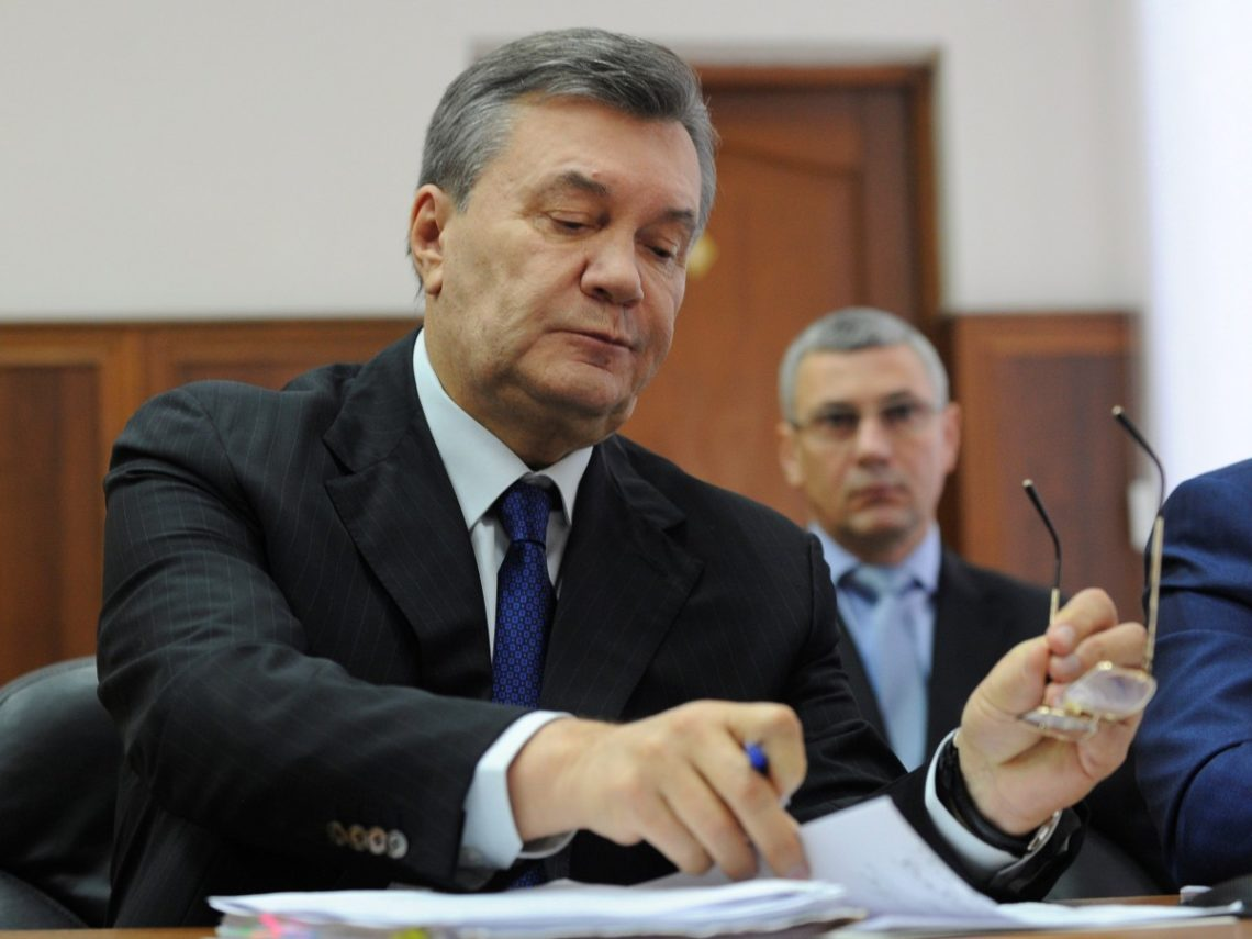 Суд столицы Украины отказался обращаться к РФ для организации связи сЯнуковичем