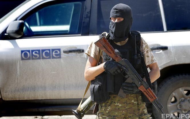 ОБСЕ: Боевик ОРДО выстрелами автомата ускорил отъезд патруля СММ