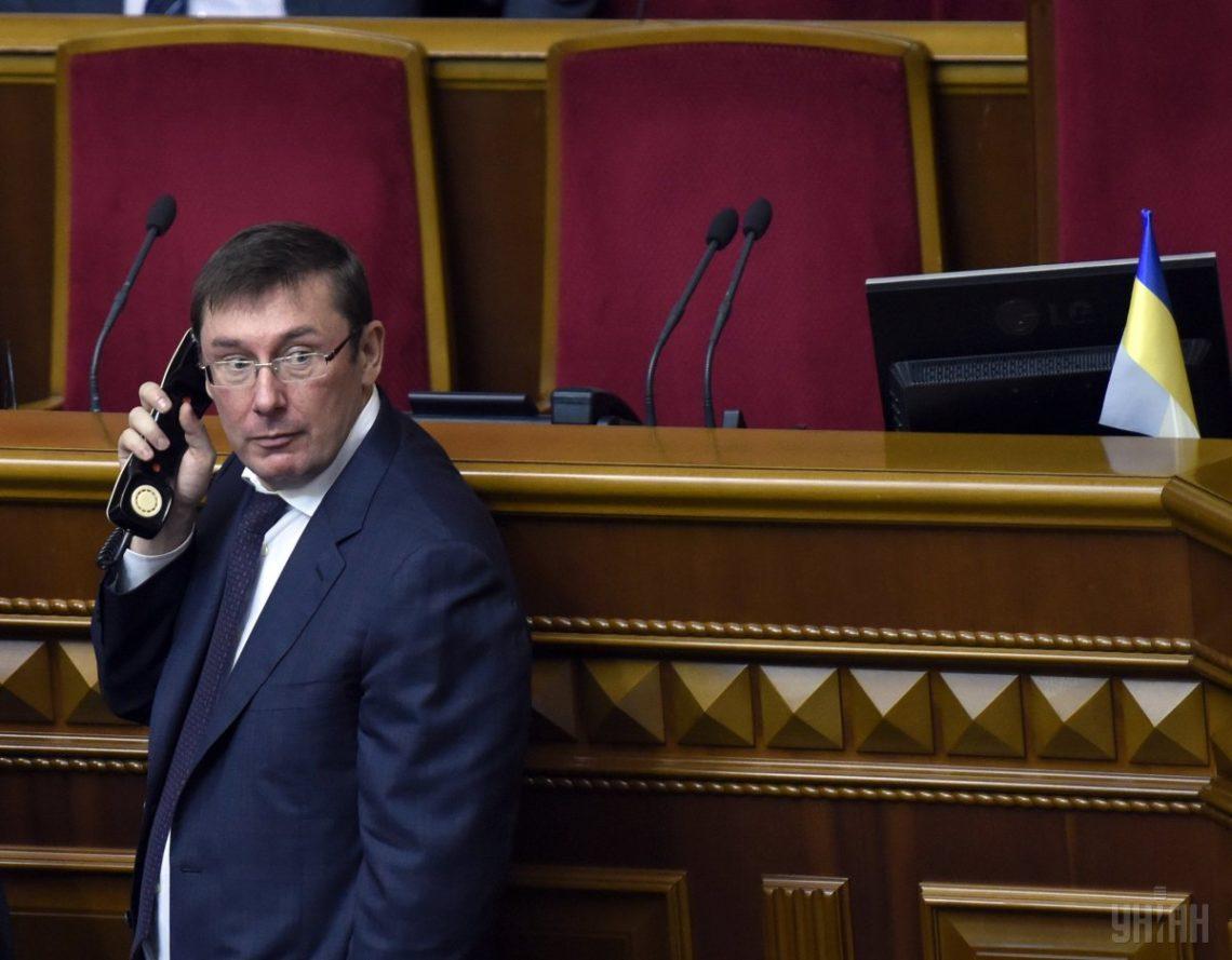 Соболєв опублікував прізвища нардепів, які виступають за відставку Луценка