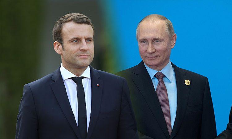 УФранції підтвердили, щоМакрон і Путін зустрінуться 29 травня