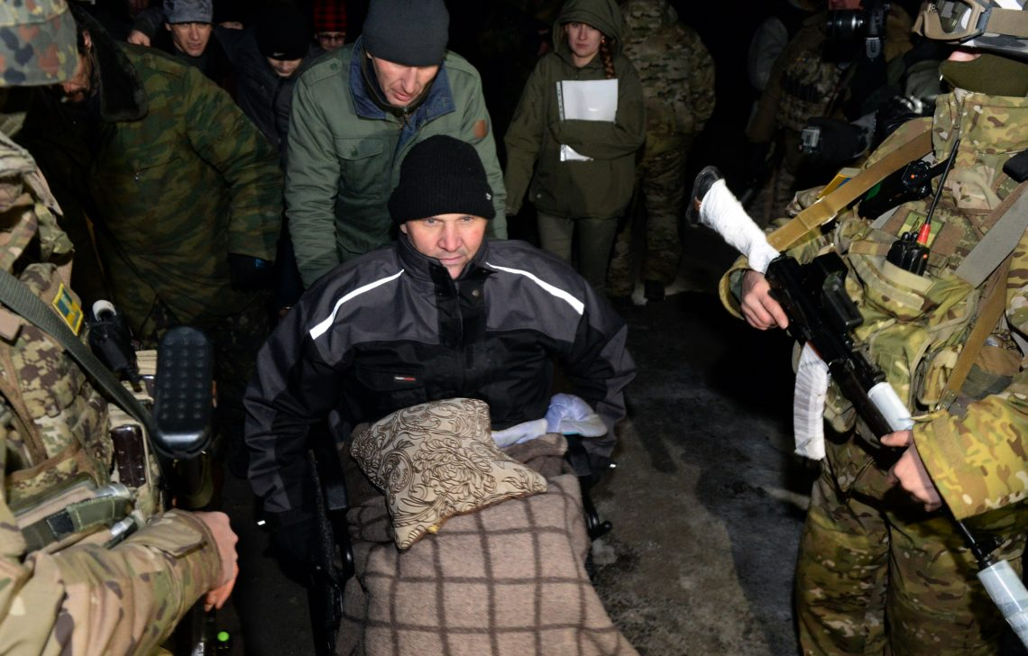 Киев предложит конкретные шаги поосвобождению заложников