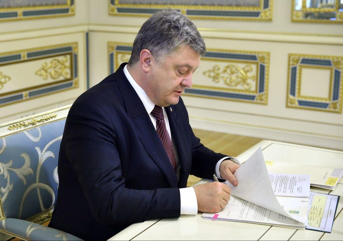 Порошенко заявив, що підпише мовні квоти нателебаченні