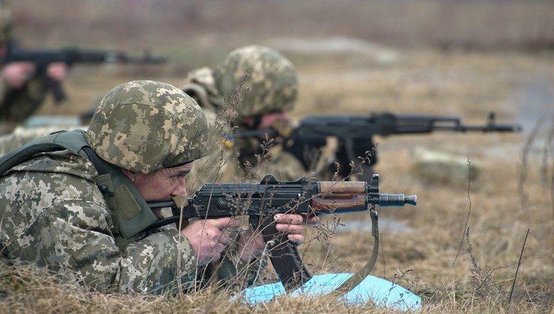 Военные заняли новые позиции наСветлодарской дуге