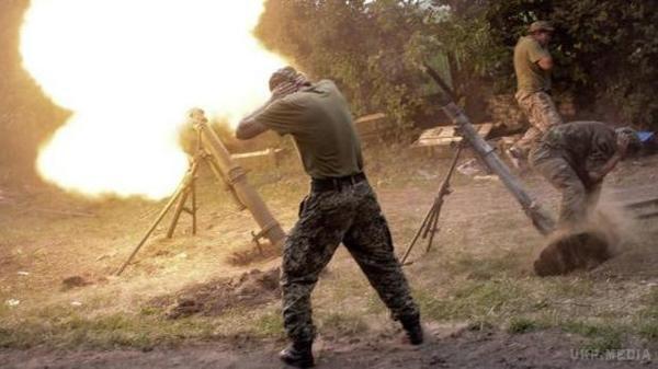 Боевики применили тяжелое вооружение около Зайцево— Штаб АТО