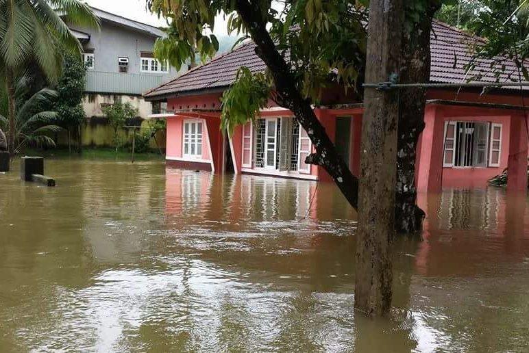 Стихийное бедствие наводнение рисунки