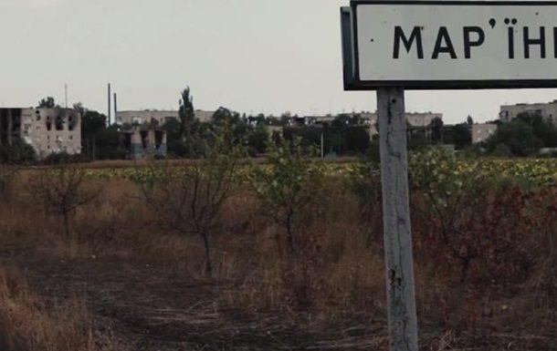 Жебривский: Боевики обстреляли Марьинку, ранены мирные граждане