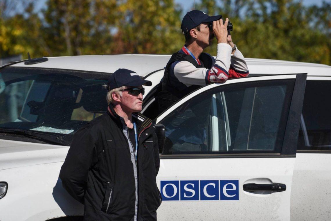 ВоенныхРФ наДонбассе обучают сбивать беспилотники СММ ОБСЕ