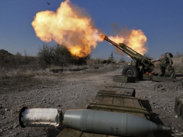 Боевики обстреляли иззенитной установки жилые дома вБахмутском районе