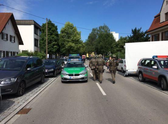 Милиция нестала считать стрельбу навокзале вМюнхене терактом