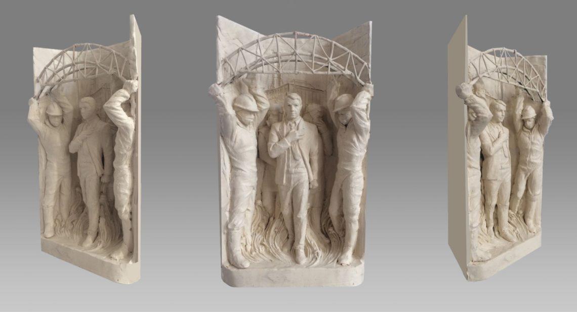 Біля центрального входу на ЧАЕС встановлять скульптуру ліквідатора Лелеченко  » Слово і Діло