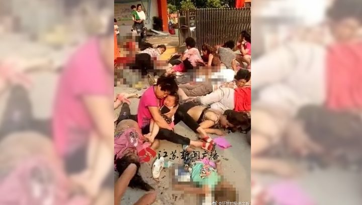 В итоге взрыва удетского сада вКитайской народной республике погибли семь человек