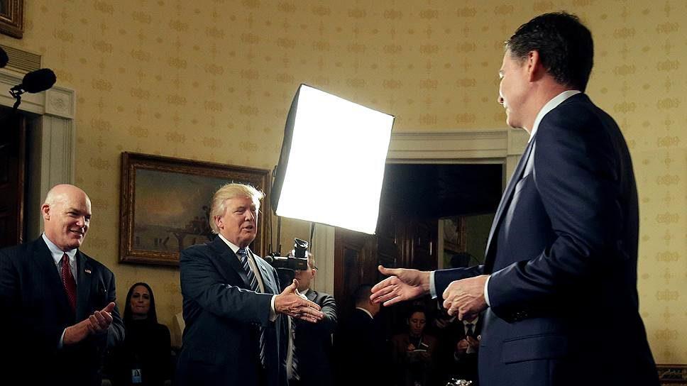 Трамп объявил, что неделал записей разговоров сэкс-главой ФБР