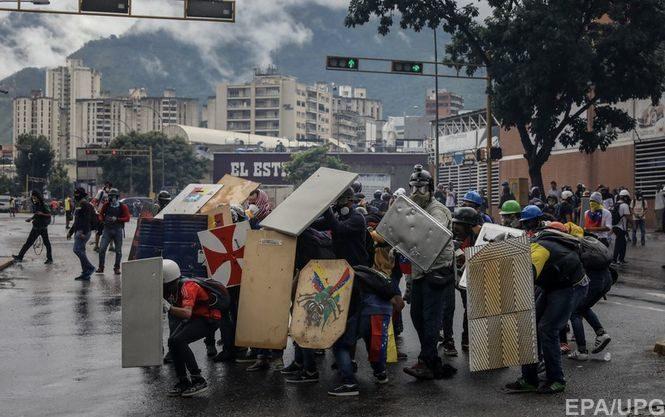 Жертвами протестов вВенесуэле стали уже поменьшей мере 89 человек