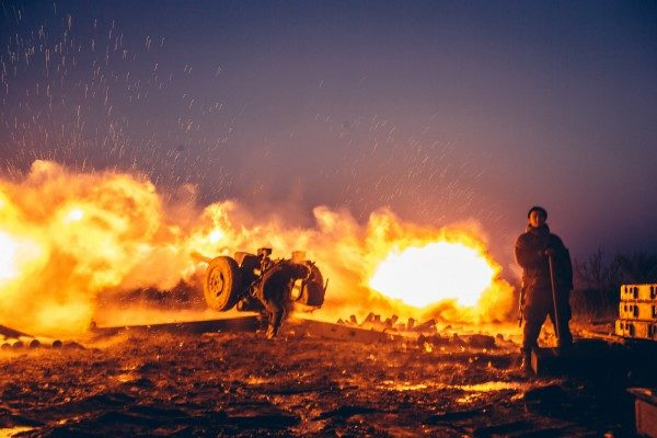 Боевики обстреляли личный сектор Марьинки,— штаб