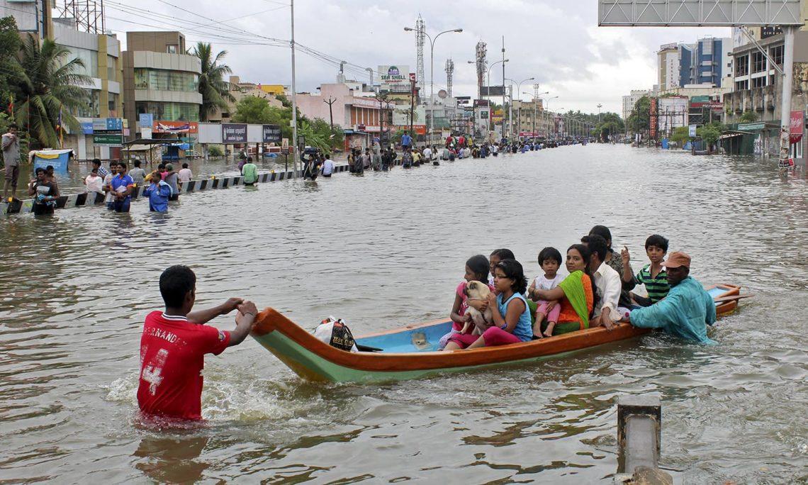 Из-за ливней насеверо-востоке Индии погибли 85 человек