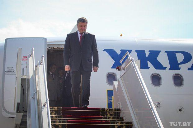 Президент Украины начал государственный визит вГрузию