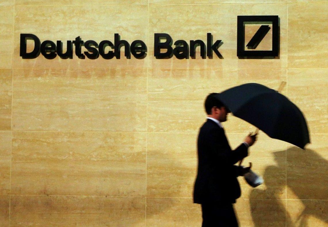 Deutsche Bank выведет из Англии 300млрдевро
