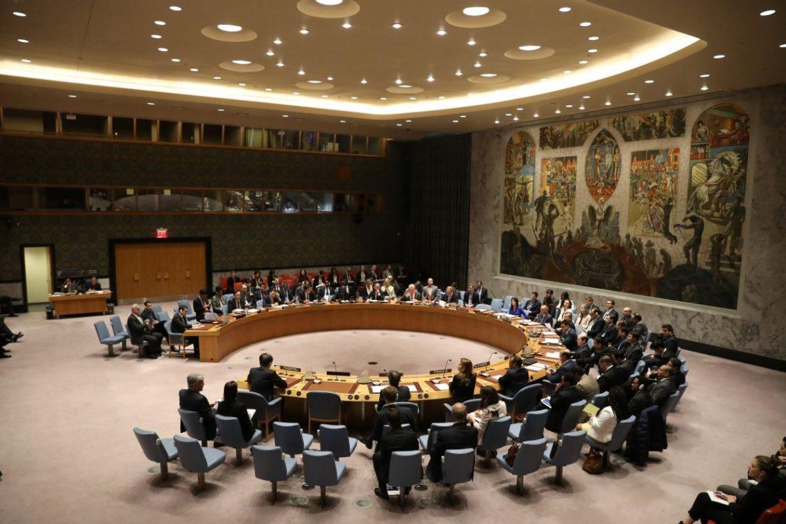 Украина сообщила вСБ ООН опостоянных поставкахРФ оружия наДонбасс