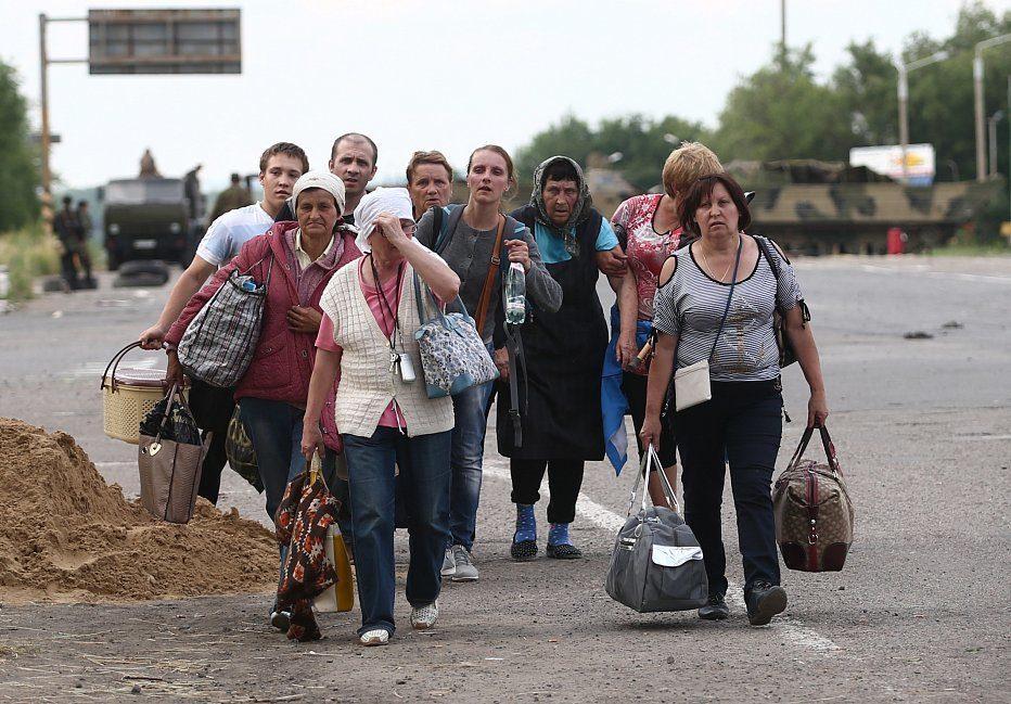 УРосії прийняли резонансне рішення щодо біженців зДонбасу