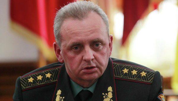 Муженко: Донбасс оккупировали 40 000 русских военных ибоевиков