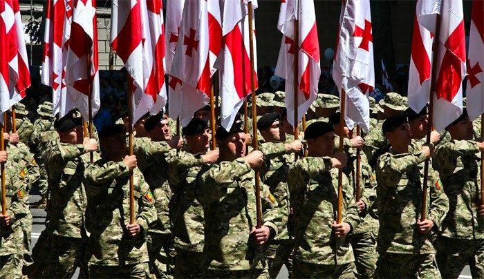 Грузинська армія візьме участь упараді вУкраїні