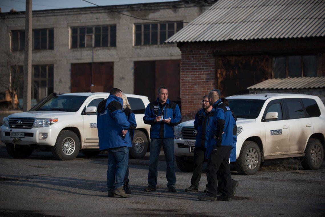 ОБСЄ: Бойовики порушують відведення озброєння, наЛуганщині - зенітні комплекси таустановки