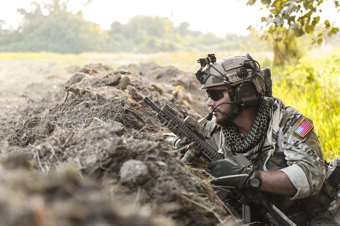 Вбоях стеррористами насевере Ирака погибли двое американских солдат
