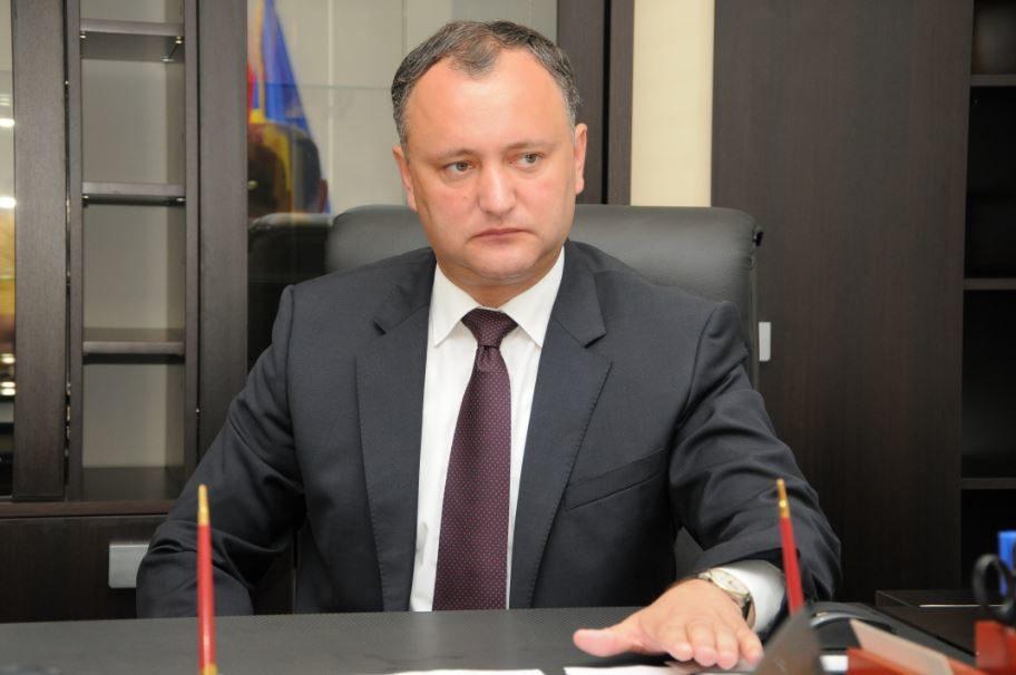 Додон сделал громкое объявление овступлении Молдовы вНАТО
