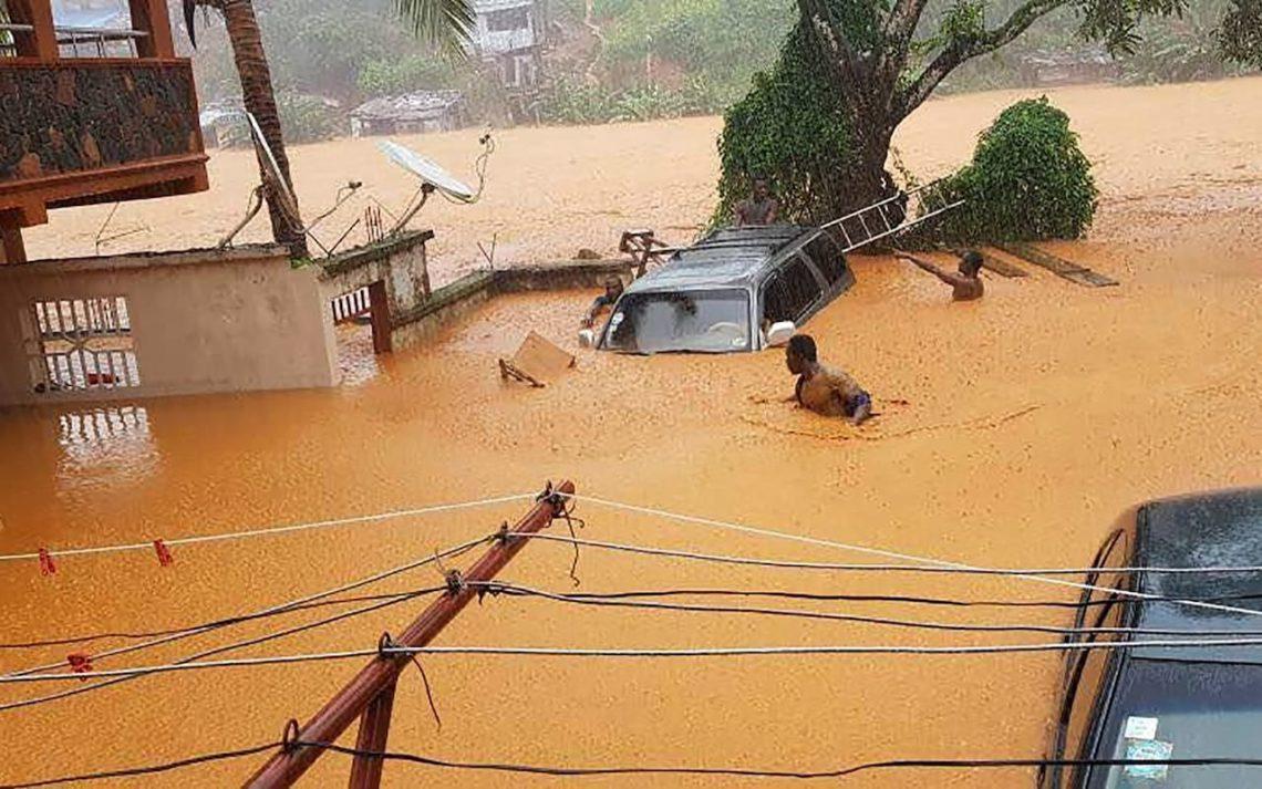 ВСьерра-Леоне погибло неменее 200 человек в итоге схода оползня